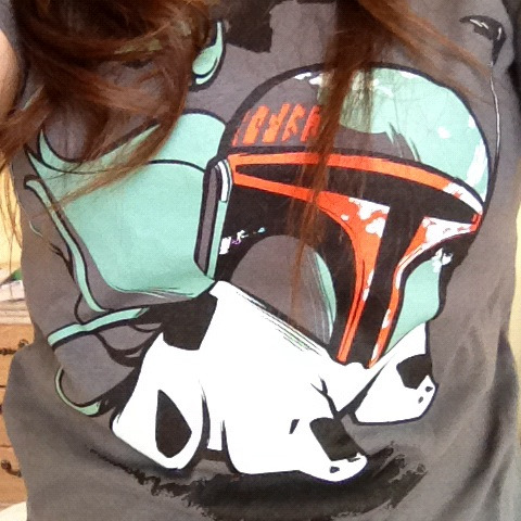 I know. You are so jelly of my shirt.  Bulbafett.  :) - Chippy