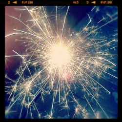 Baby you're a firework (Tomada con Instagram)