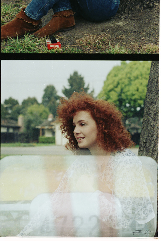 little red-haired girl/end of roll 35mm Color, 1988