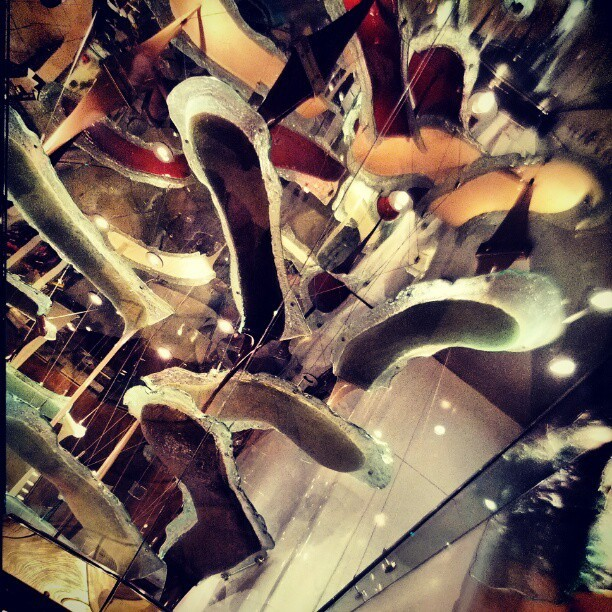 Worlds largest chocolate fountain.  (Taken with Instagram)