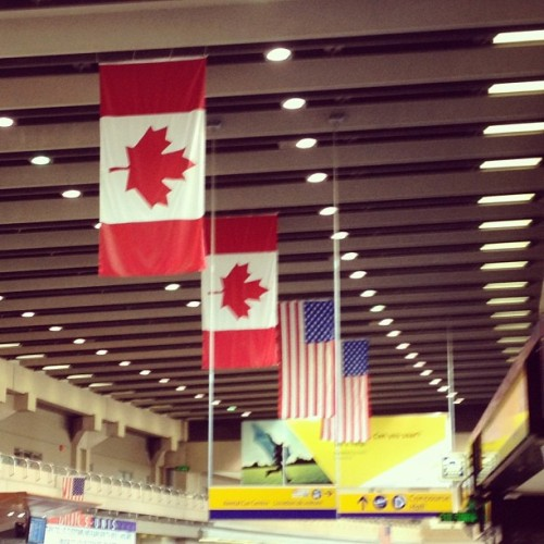 #Canada #USA #YYC  (Taken with Instagram at Calgary International Airport (YYC))