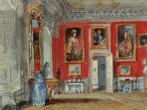 Joseph Mallord William Turner The Red Room 1827