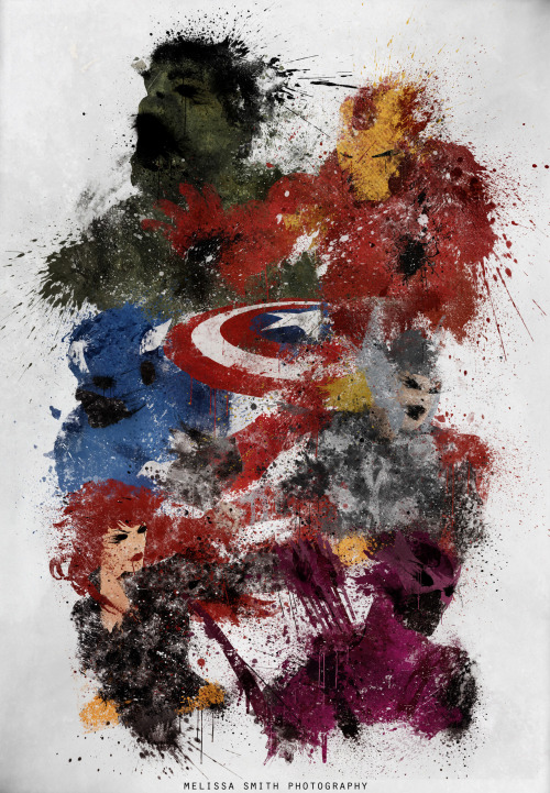 themarvelageofcomics:  Avengers Assemble! by Melissa Smith Art Shop / DeviantArt / Flickr