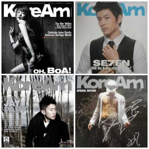 KoreAm Journal KPop Bundle (Boa, Se7en, Jay Park) Purchase this at our ebay store!