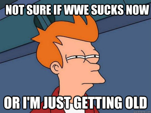 cannibalblogocaust:  Sorry wrestling friends for the hate.. I still watch but I just miss the attitude era.. the WWF days..    ^ this.