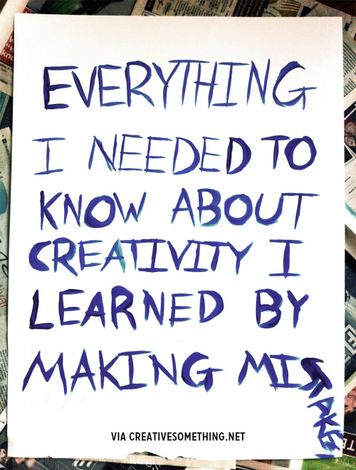 Everything about creativity