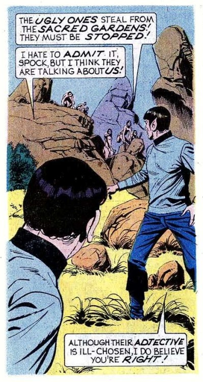 cabotcovewriter:  Spock, were you just being vain?  I think you were.