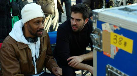 "VIDEO: Preview the new RZA and Eli Roth collaboration film ""The Man With the Iron Fists"" presented by Quentin Tarantino   You can't spell Kung Fu without F and U. Check out the crazy new restricted trailer for RZA's upcoming action-adventure The Man With the Iron Fists!  http://www.youtube.com/watch?v=FV9tHBF8mh8  Quentin Tarantino presents The Man With the Iron Fists, an action-adventure inspired by kung-fu classics as interpreted by his longtime collaborators RZA and Eli Roth. Making his debut as a big-screen director and leading man, RZA—alongside a stellar international cast led by Russell Crowe and Lucy Liu—tells the epic story of warriors, assassins and a lone outsider hero in nineteenth-century China who must unite to destroy the clan traitor who would destroy them all."