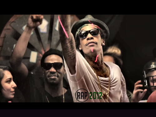 Work Hard Play Hard - Wiz Khalifa [ video ]