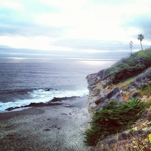 Senior photos at laguna.  (Taken with Instagram at Victoria Beach)