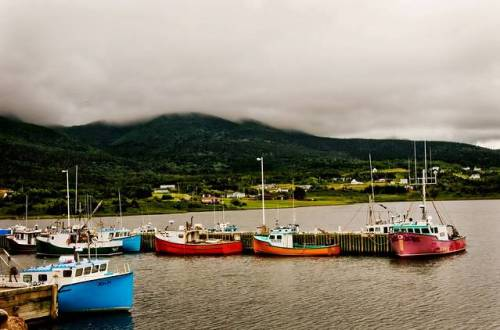 Harbour at Bay St. Lawrence  by -liyen-