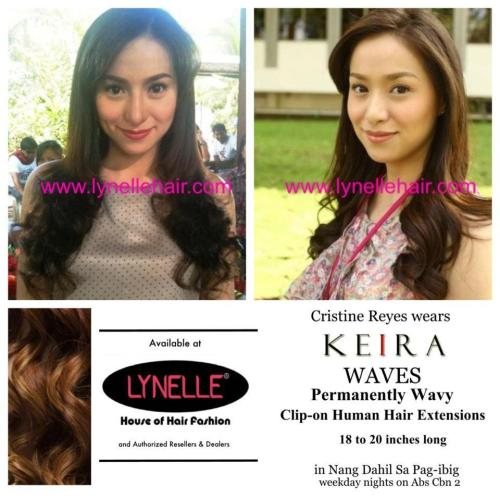 Cristine Reyes wearing KEIRA Clip-on Waves! Watch Nang Dahil Sa Pag-ibig,weekday nights on AbsCbn 2