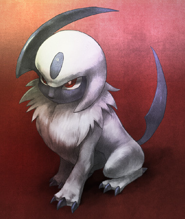 Amazing pokemon artwork : absol