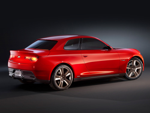 blaaargh:  2012 Chevrolet Code 130R Concept Yes!!! This is cute! Like a cheap and cheerful 1-series  It's a diet Camaro!