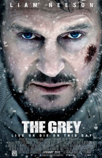 The Grey (2011)  Summary: Group of people from a crashed plane have to survive a plane crash.  Rating: D. It was fun watching the first time, seeing who would die first. However, once you watch it, you never wanna watch it again.