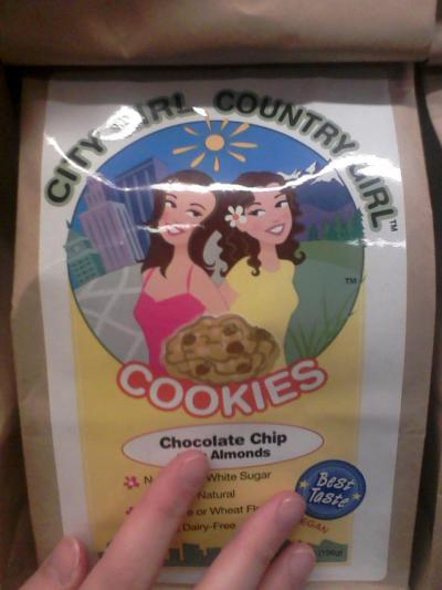 Guys i found my new ship… cookies found at Whole Foods.. They are my OTP (One true pastry) City girl-san  x Country girl-chan I WILL GO DOWN WITH THIS SHIP you can just see it in their eyes city girl-san totes gave country girl-chan that kawaii flower omfg