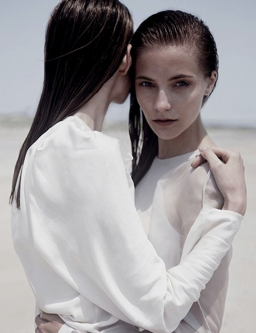 russiansnowqueen:  Amanda Nørgaard and Dorothea Barth Jörgensen by Kai Z Feng for Stockholm, F/W 2011