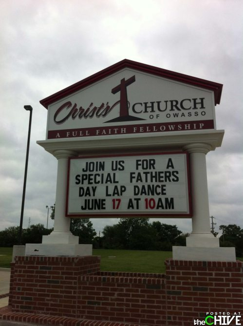 wastetheday:  Finally, a church I can get into!