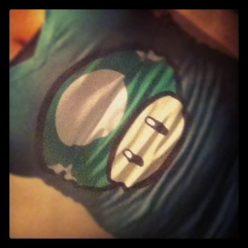 Loving my new shirt (;  (Taken with Instagram)