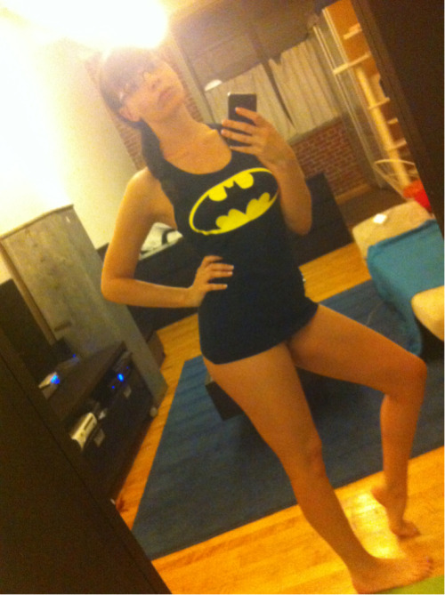 danadearmond:  I'm batman  This concludes the Dana DeArmond Triple Play Thursday reblogs