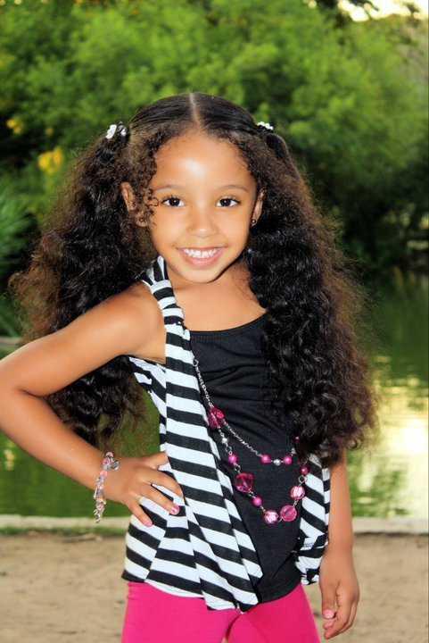 Daughter Kaliyah somethangdope.tumblr.com  For more curly haired beauties check out: BeauTIFFul Curls