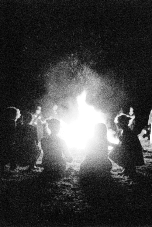 I wish I was around a bonfire with all my closest friends and my love.