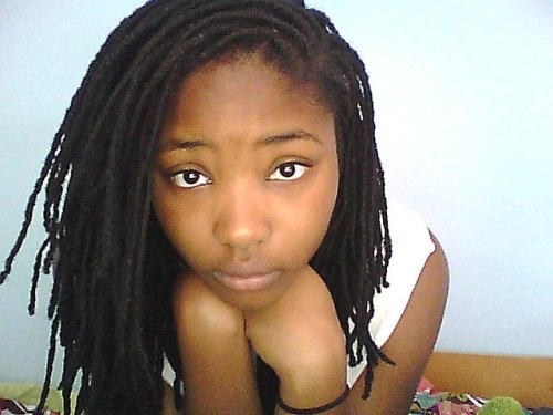 dreadlocklove:  A picture of me and my dreadlocks. 10 years strong!