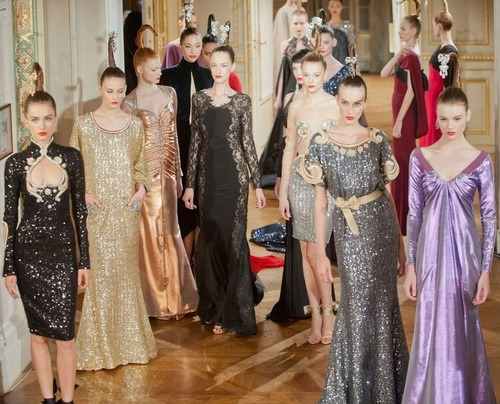 Alexis Mabille Haute Couture  Fall/Winter 2012 Paris Fashion Week