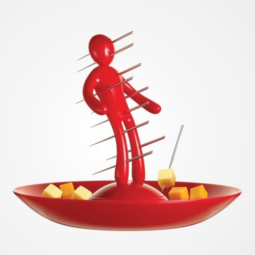 The Ex Tray & Skewer Set
