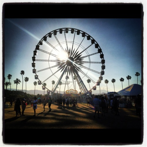 sarahmmallory:  coachella, ca. c. 2012.04 (via instagram on my iphone- let's be honest i didn't want my camera ruined at the festival.)