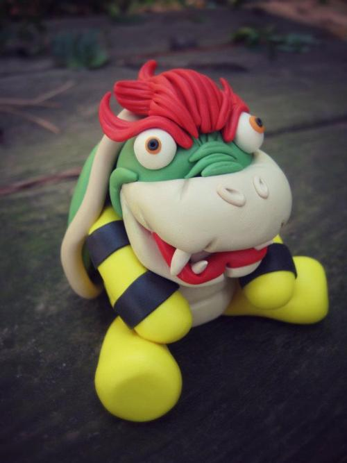 """Little Lazy Bowser"" by Little LaziesFacebook Page"