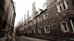 Ancient alleyways, Cambridge.