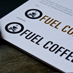 Fuel Coffee Brand Standards - a 29 page manual outlining the visual and cultural identity of Fuel Coffee. No stone was left unturned in creating a brand as unique and driven as it's clientele.