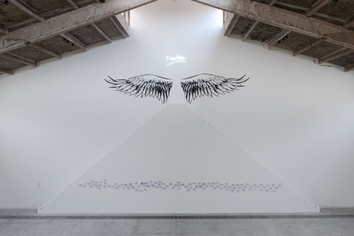 Moataz Nasr: I Am Free (2012). Interactive site-specific installation