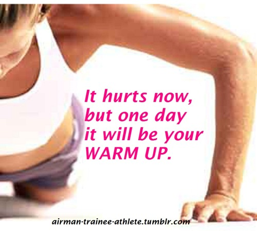 fit-girls-look-good-naked:  It hurts now, but one day it will be your warm up!