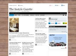 We're now up and running with our brand new daily online magazine - The Instyle Gazette. Take a look - and don't forget to subscribe! Source: http://paper.li/MaisonInstyle/1341294280