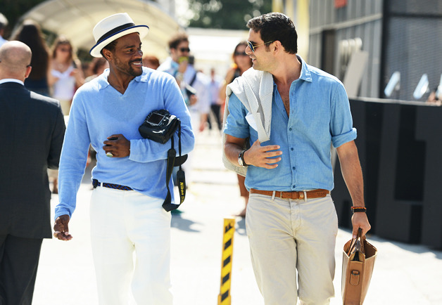 casual cool at pitti uomo