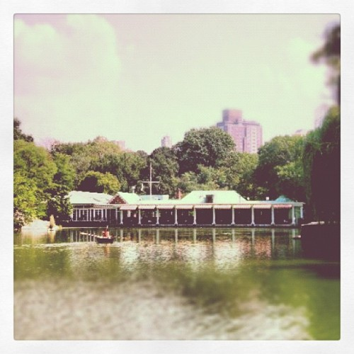 #central park #boathouse #new York city (Taken with Instagram)