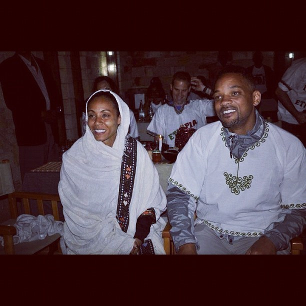 They really look like habeshas 😃 #habesha #eritrea #ethopia #willsmith #jadapinkettsmith #happy #adorable (Wurde mit Instagram aufgenommen)