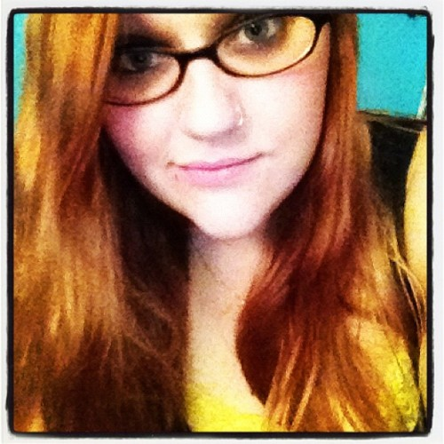 I was feelin #cute #personal #me #glasses #blueeyes  (Taken with Instagram)