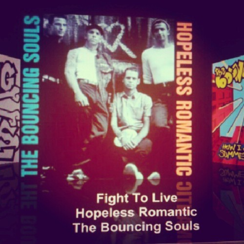 I just want to cuddle and listen to #thebouncingsouls.   (Taken with Instagram)