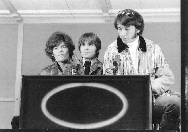 Micky Dolenz, Davy Jones, and Mike Nesmith on The Hollywood Squares