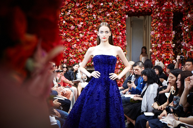 Christian Dior Haute Couture FW 2012 Produced by Bureau Betak Picture by Daniel Beres