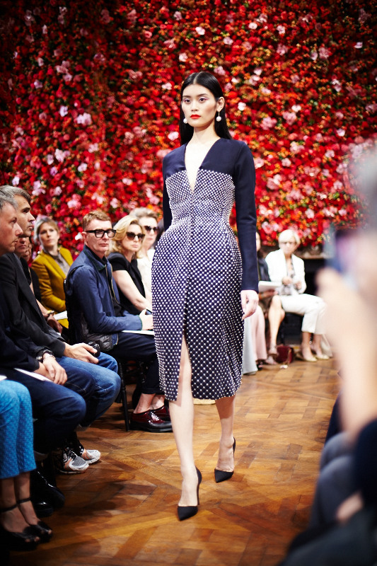 Ming Christian Dior Haute Couture FW 2012 Produced by BUREAU BETAK Picture by Daniel Beres