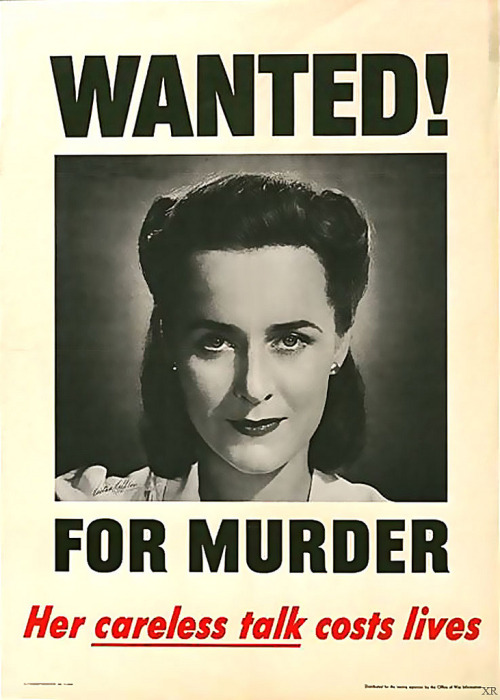 More like 'Wanted! For information on how to make one's hair and eyebrows more awesome.'Her careful victory rolls cost me my sense of hair-based superiority.