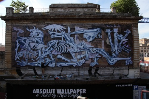 Ron English - Guernica x ray - Roma