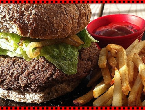 (Click here for recipe Adzuki Burger)