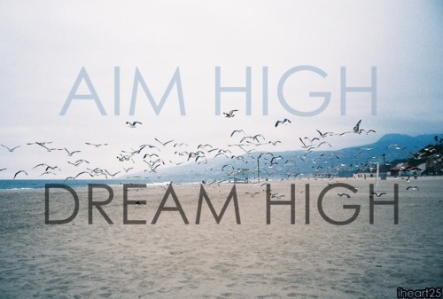 fitness-pro-live:  aim high dream high
