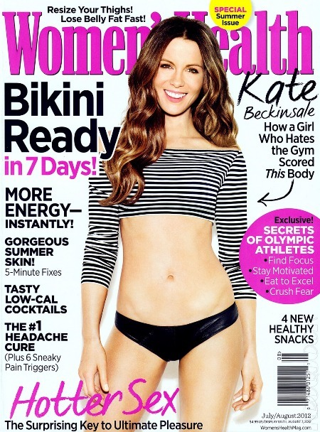 Women's Health July/August 2012 Cover. Grab a copy!