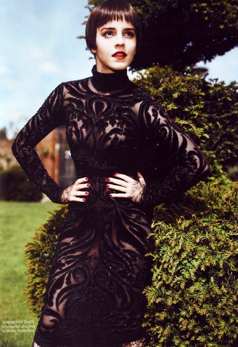 Emma Watson for Harper's BAZAAR UK 2011 Shot by Alexi Lubomirski